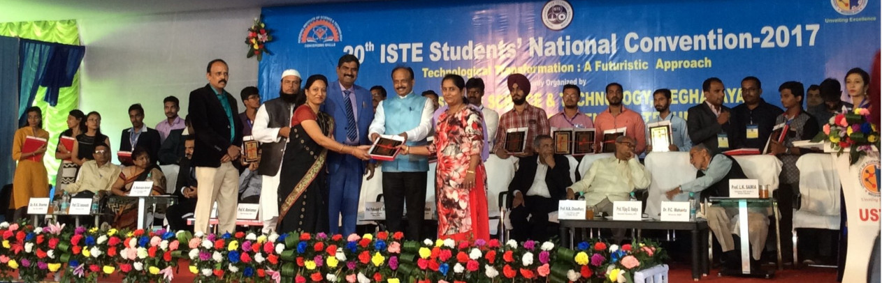 ISTE BEST STUDENTS CHAPTER AWARD TO PCP