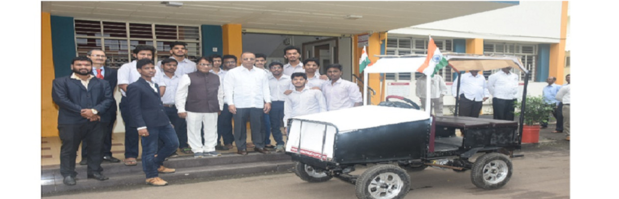 PCP Solar Car Invention By 'Automobile Department'