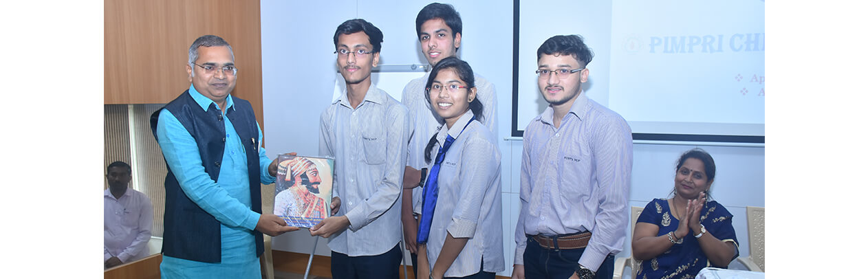 TYCO Students are Awarded For Best Micro-Project (STUDENT FEEDBACK SYSTEM) by Mr. Namdevrao Jadhav